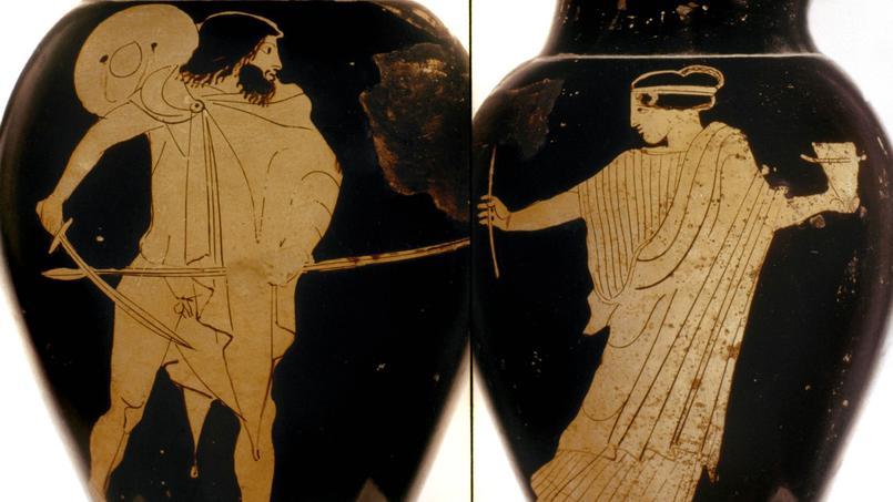Le Molière 2016 de la meilleure adaptation, Éric Bouvron, lit un chant de L'Odyssée d'Homère en direct dans les studios du Figaro à l'occasion du 11e Festival Européen Latin Grec.