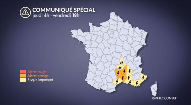 Pluies et orages. L'Aude et les Pyrénées-Orientales en vigilance