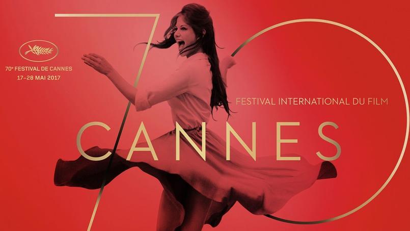 Une superbe photo de Claudia Cardinale a été choisie pour illustrer l'affiche du 70e Festival de Cannes.