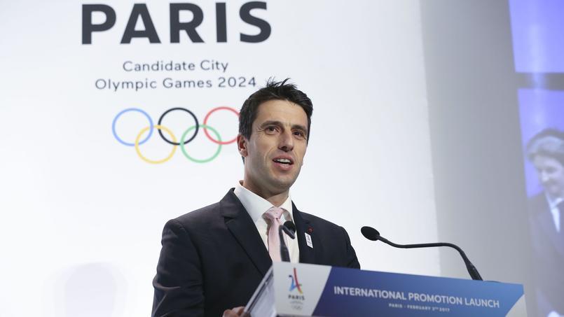 Tony Estanguet, co-président de Paris 2024