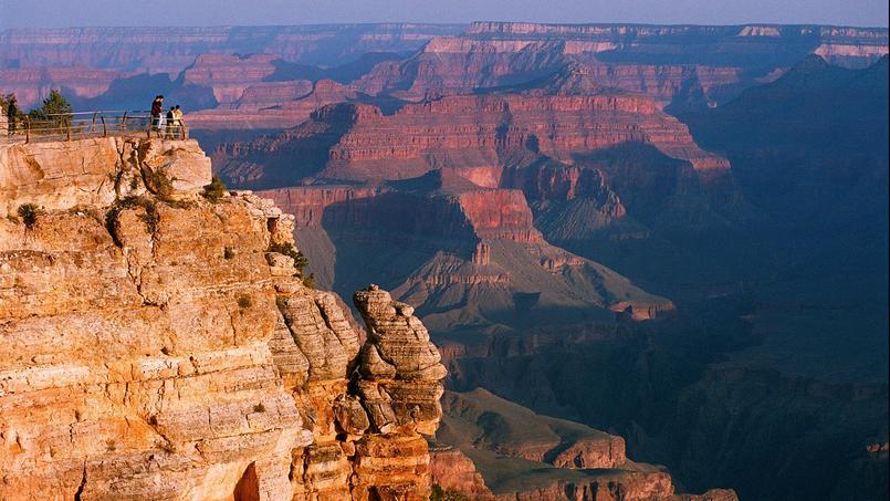 Le Grand Canyon du Colorado, une des randonnées présentées dans ce livre.