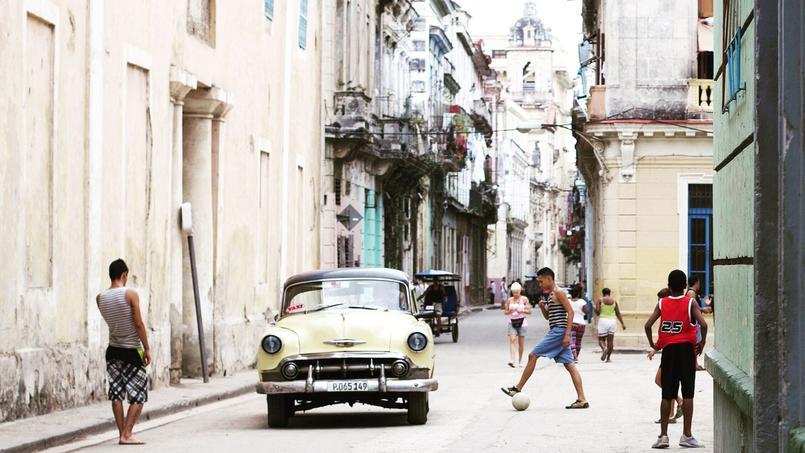 La Havane, une rue de la vieille ville.