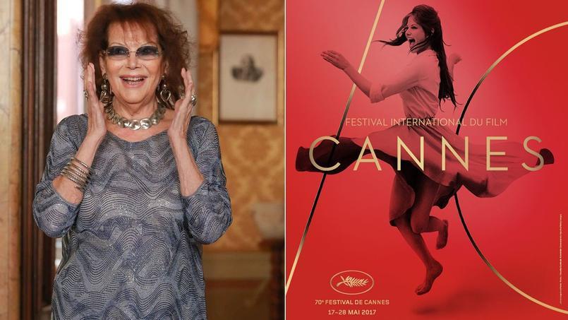 Claudia Cardinale a répondu à la fausse polémique allumée par quelques féministes sur Twitter à propos des retouches de sa photo sur l'affiche du 70e Festival de Cannes.