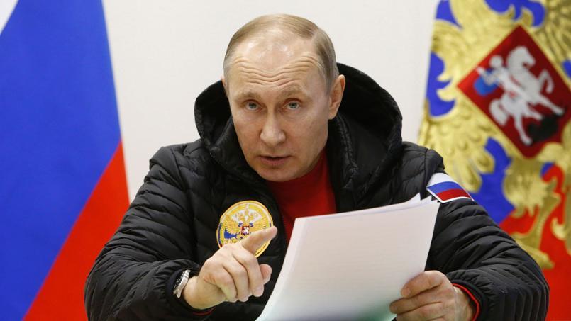 Le président russe a remis en cause l'influence de l'homme sur le réchauffement climatique lors d'un forum sur l'Arctique.