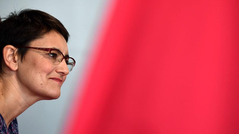 Nathalie Arthaud, militante de Lutte ouvrière