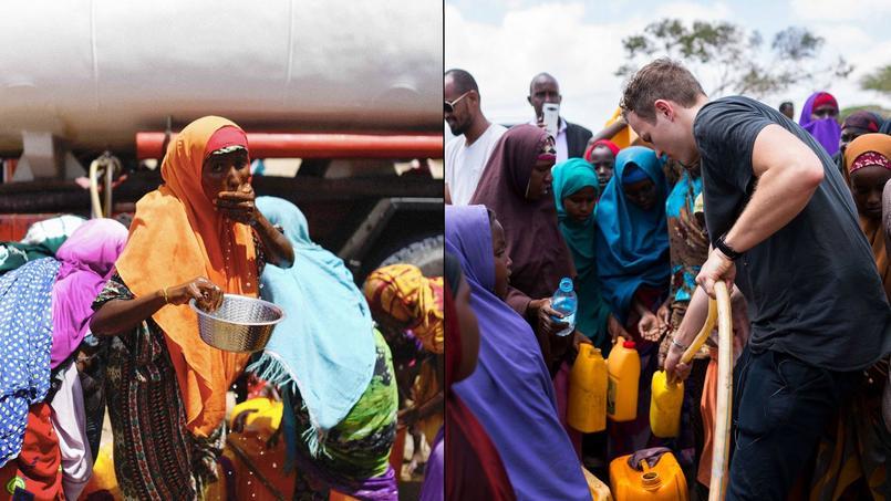 Le Français Jérôme Jarre a lancé une cagnotte pour venir en aide aux Somaliens qui a généré plus de 2 millions de dollars.