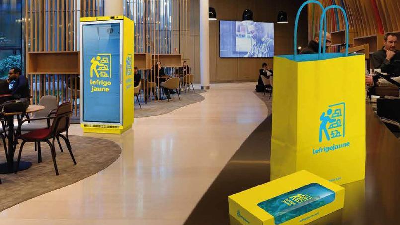 Le Frigo Jaune permet aux entreprises de réduire leur gaspillage alimentaire