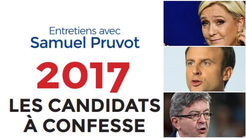 Le Pen, Macron, Mélenchon: les extraits du livre qui confesse les candidats