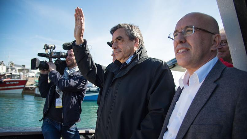 Eric Ciotti et François Fillon.