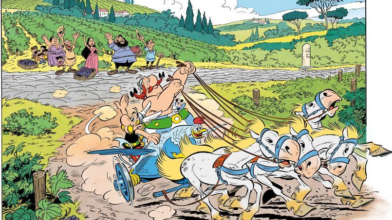 Pour sa 37e aventure, Astérix découvrira l'Italie