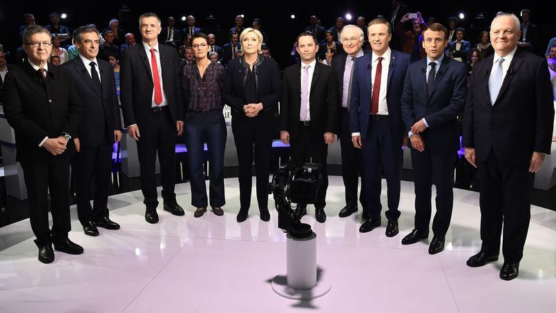 Les onze candidats ont participé mardi soir au second débat télévisé de la présidentielle.