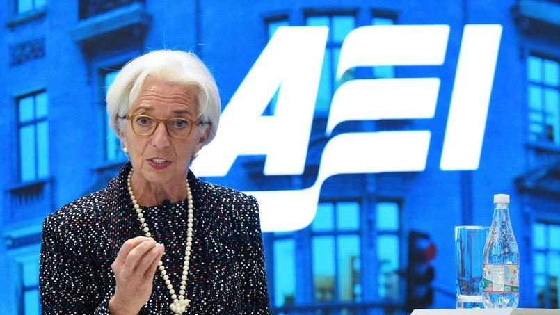 Lundi soir, devant l'American Enterprise Institute, la directrice générale du FMI a mis en garde contre l'atonie de la productivité mondiale.