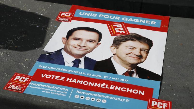 Certains militants de gauche appellent désormais à une candidature commune entre Hamon et Mélenchon