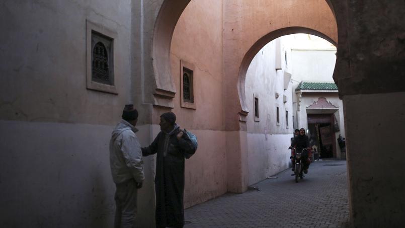 Dans la Médina, à Marrakech