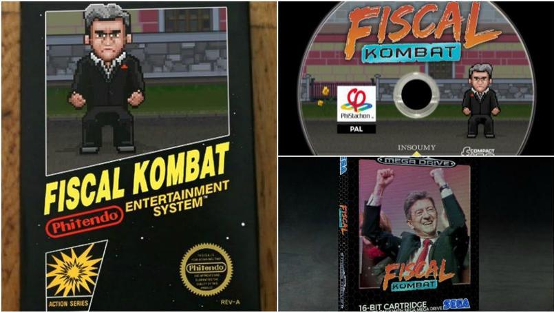 Mélenchon sort son jeu vidéo de campagne — Fiscal Kombat