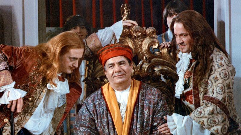 Le bourgeois gentilhomme de Roger Coggio avec Michel Galabru (monsieur Jourdain), 1982.