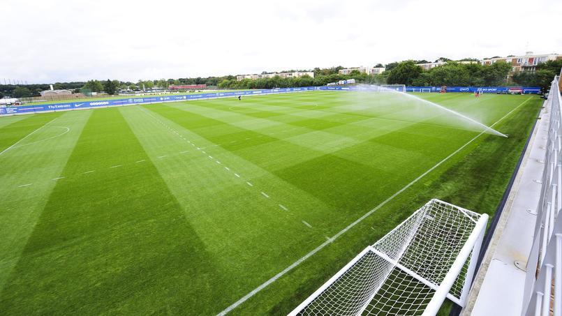 Le PSG s'entraîne actuellement au centre ooredoo à Saint-Germain-en-Laye (78)