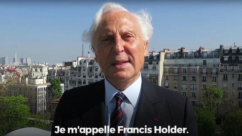 Francis Holder, patron des boulangeries Paul. Crédit: capture d'écran @