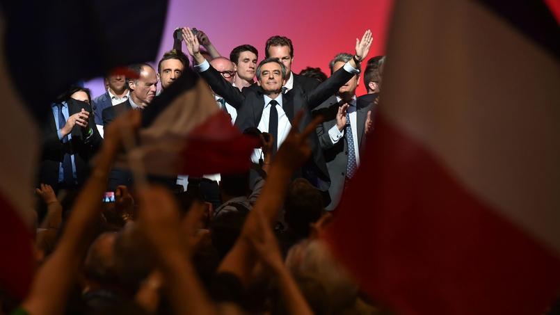 François Fillon en meeting à Toulouse, ce jeudi 13 avril.