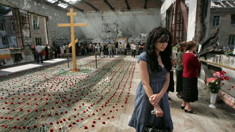 Commémoration du massacre, le 1er septembre 2009.