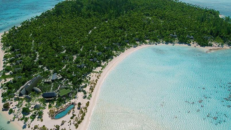 L'atoll privé de Tetiaroa.