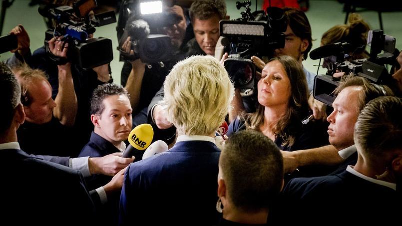 Geert Wilders, leader de l'extrême droite néerlandaise, a été battu par le premier ministre sortant aux élections législatives.