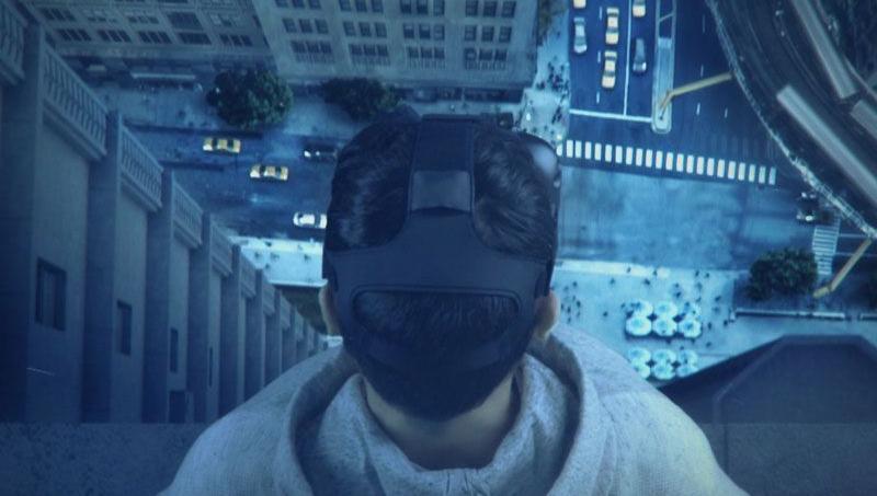 Grâce à la réalité virtuelle, la marque Diesel propose une expérience sur les buildings de Manhattan.
