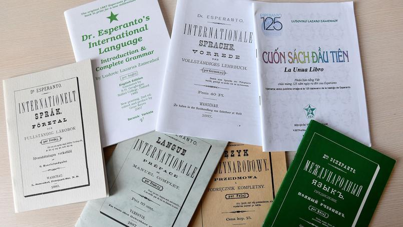 Le premier recueil de Ludwik Zamenhof, intitulé La langue internationale.