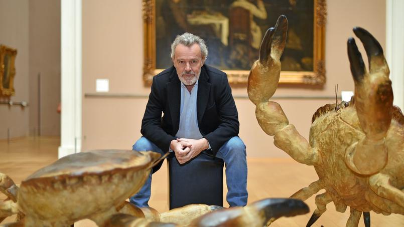 Le chef de L'Arpège expose au Palais des beaux-arts, à Lille.