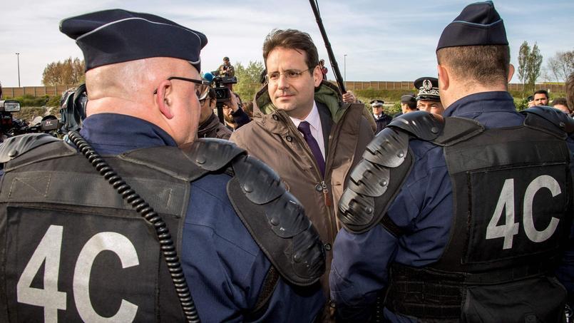 Les policiers mobilisés à Lyon pour sécuriser le match de football entre Lyon et Besiktas, jeudi dernier.