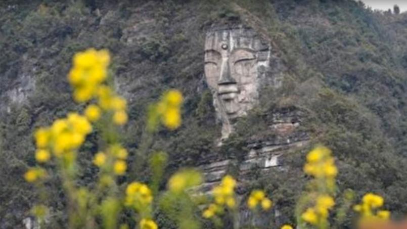 Cette statue de Bouddha pourrait dépasser les dimensions de celle de Leshan.