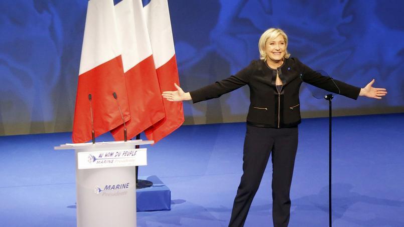 Marine Le Pen candidate à l'élection présidentielle