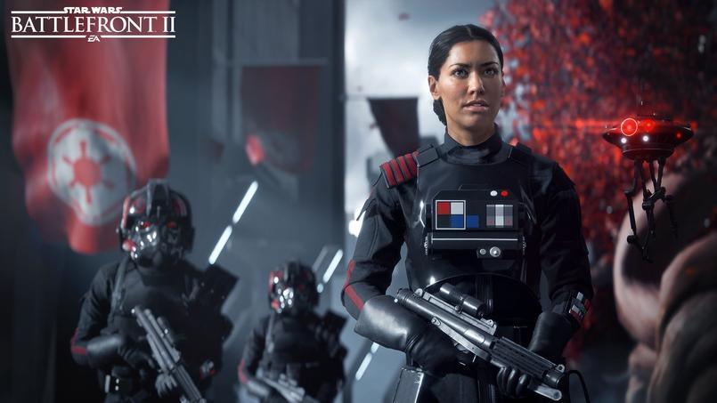 Le joueur pourra interpréter Iden Versio, une commandante des forces spéciales de l'Empire, incarnée par l'actrice Janina Gavankar. Le jeu d'Electronic Arts pour PC, PlayStation 4 et xBox one