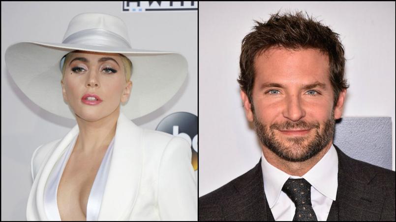 Lady Gaga et Bradley Cooper sont les deux acteurs principaux du film «A Star is Born» qui sortira en 2018.