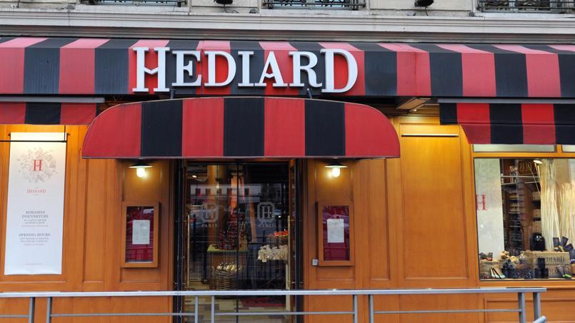 L'établissement phare d'Hédiard, situé place de la Madeleine, a été contraint de fermer le 7 mai 2015, pour rénovation.