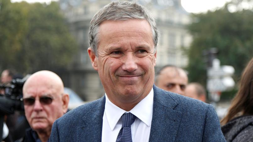 Nicolas Dupont-Aignan, maire de Yerres (Essonne) et candidat à la présidentielle, en octobre 2016. Photo d'illustration.