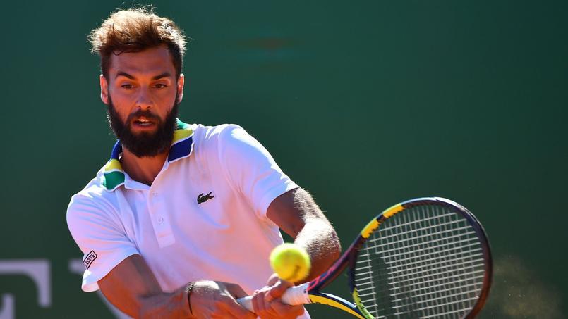 Benoît Paire lors du tournoi de Monte-Carlo