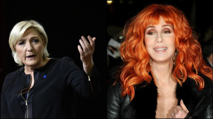 Cher met en garde ses abonnés sur la possible élection de Marine Le Pen à la tête de la France.