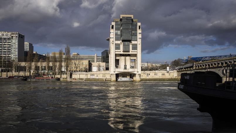 Le ministère des finances, à Paris, dans le quartier de Bercy