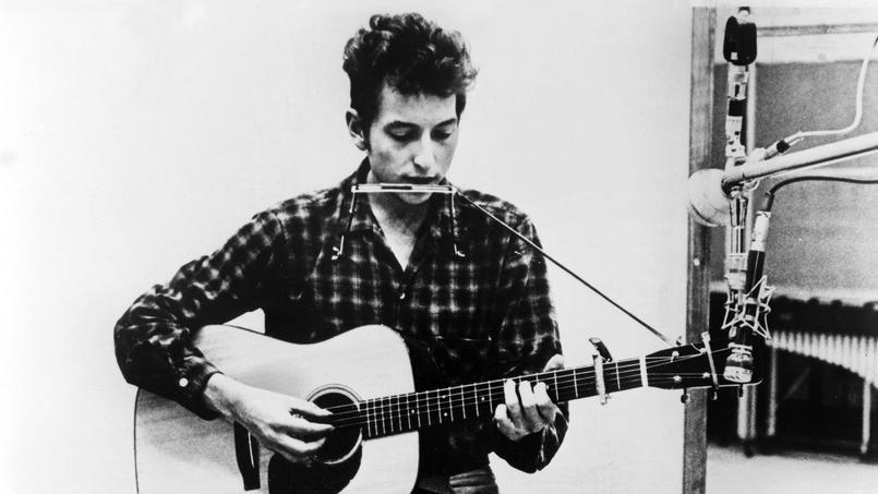 Une des photos prise à la même époque, lors d'une session d'enregistrement en 1964.