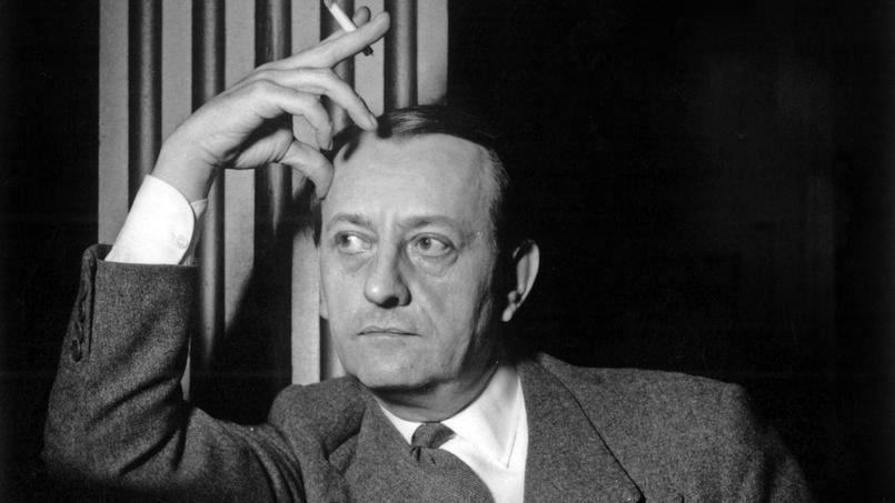 André Malraux, écrivain, premier ministre des Affaires Culturelles en 1959.