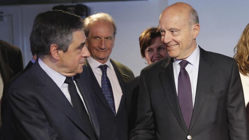 François Fillon et Alain Juppé se retrouvaient ce mercredi à Paris.