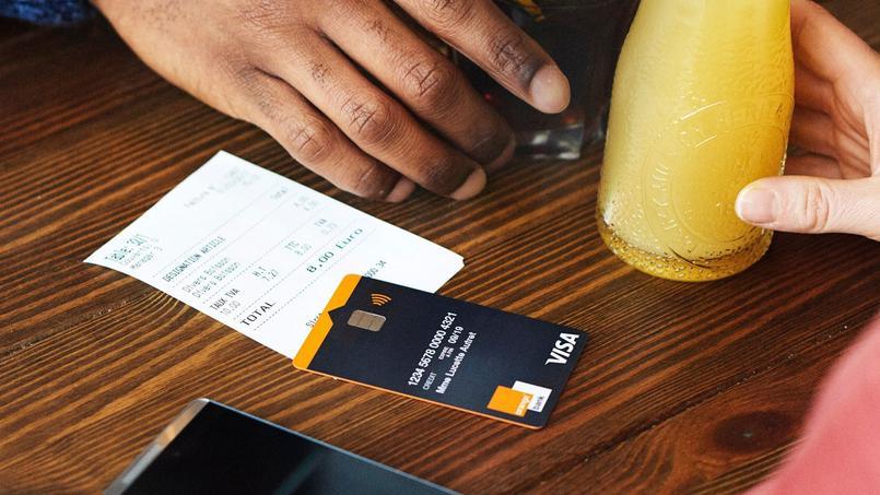 La carte bancaire Orange Bank