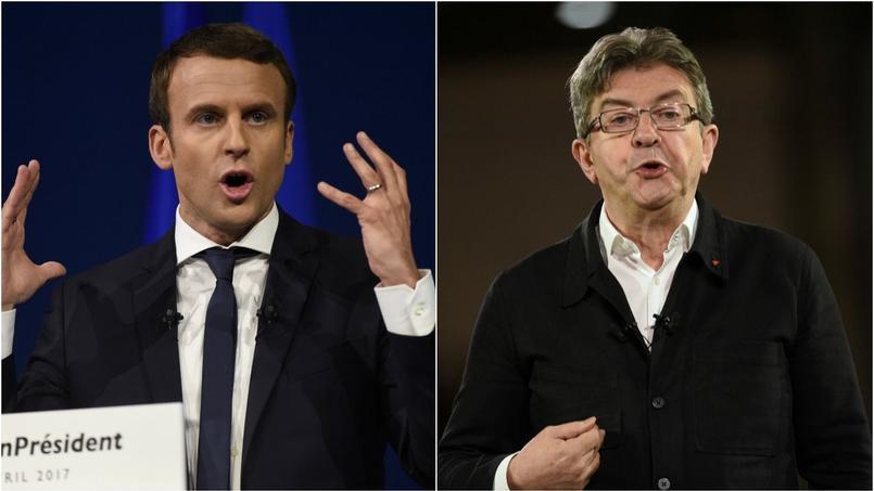 Emmanuel Macron et Jean-Luc Mélenchon utilisent tous les deux le démarchage téléphonique.