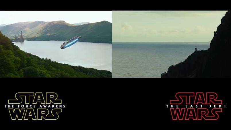 La bande-annonce de «Star Wars: The Last Jedi» reprend à l'identique les plans de «Star Wars The Force Awakens».