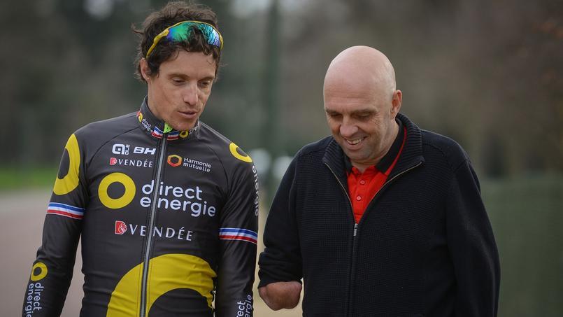 Sylvain Cavanel relevant le défi lancé par Philippe Croizon!