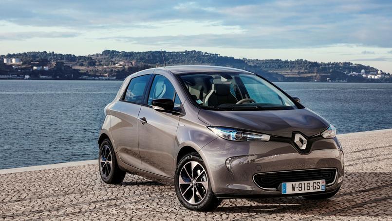 La Renault Zoé.