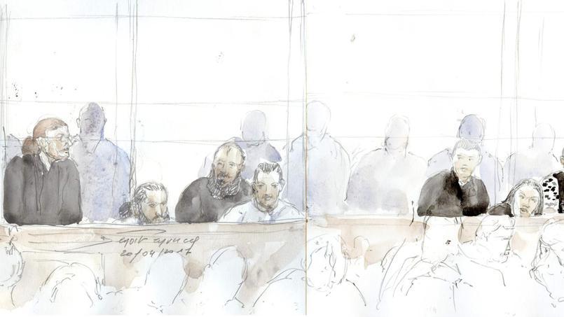 Vingt hommes sont jugés pour un attentat à la grenade perpétré contre une épicerie casher, à Sarcelles, le 19 septembre 2012, des projets d'attaques contre des militaires et des départs en Syrie.