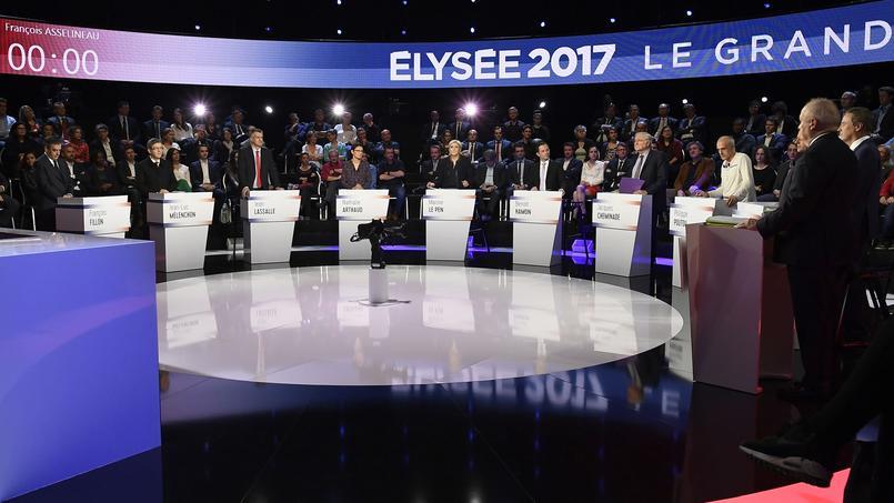 Les onze candidats se sont affrontés à trois jours du premier tour de la présidentielle.