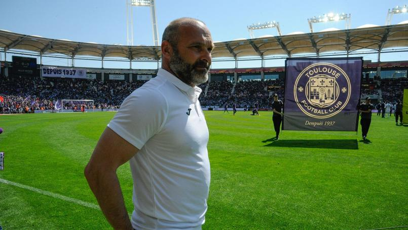 Pascal Dupraz, l'entraîneur du Téfécé, a souhaité «un bon vote à tous» pour l'élection présdientielle